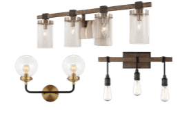 Overstock.com's bathroom lights are sure to complement any room in your home.