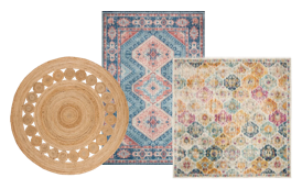 Transform any room with Overstock.com's round, square and runner rugs