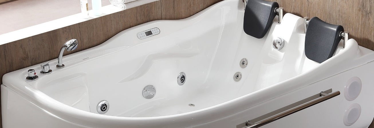Charmant Buy Jetted Tubs Online At Overstock.com | Our Best Whirlpool U0026 Air Tubs  Deals
