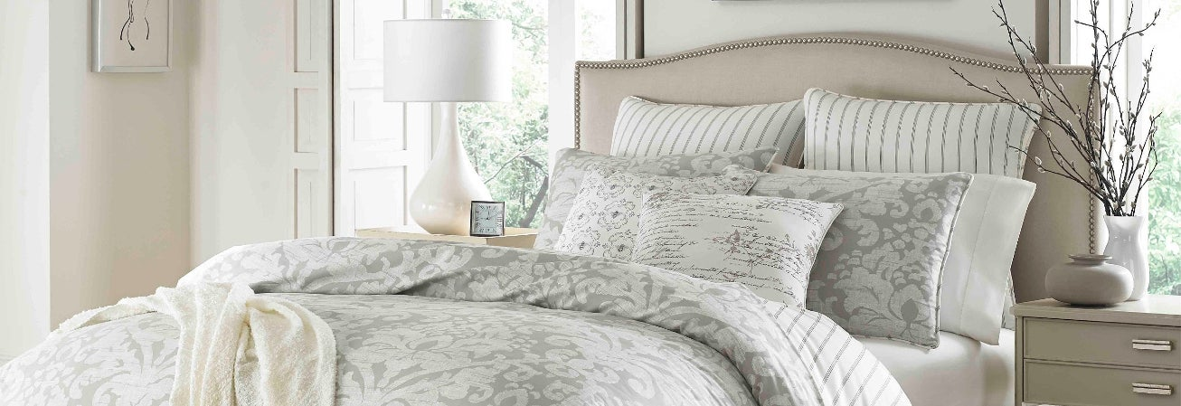 bed embellished home decorative piece chic floral set dp skirt halpert pleated comforter bedding com pillows ruffled designer with sets amazon bedroom comforters shams and pinch