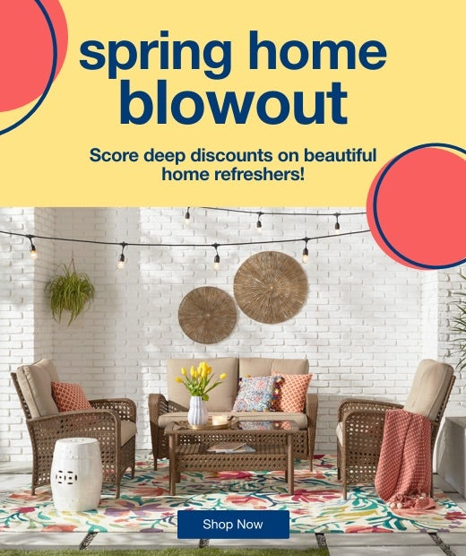Spring Home Blowout mobile