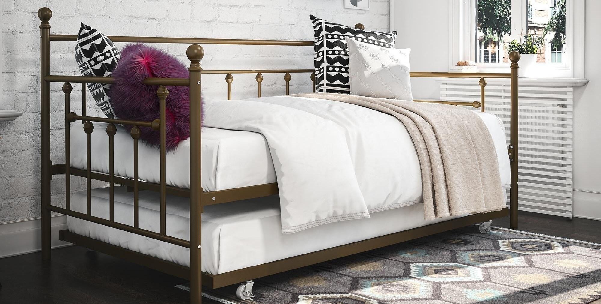 Buy Metal Beds Online At Overstock.com | Our Best Bedroom Furniture Deals
