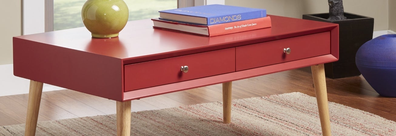 Red Coffee, Console, Sofa & End Tables Guide