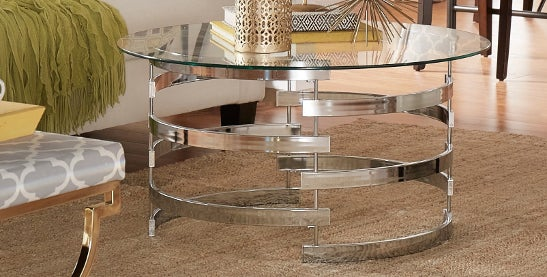 Buy Silver Coffee, Console, Sofa U0026 End Tables Online At Overstock.com | Our  Best Living Room Furniture Deals
