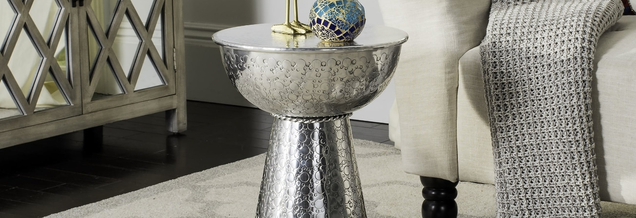 Silver Coffee, Console, Sofa & End Tables Guide