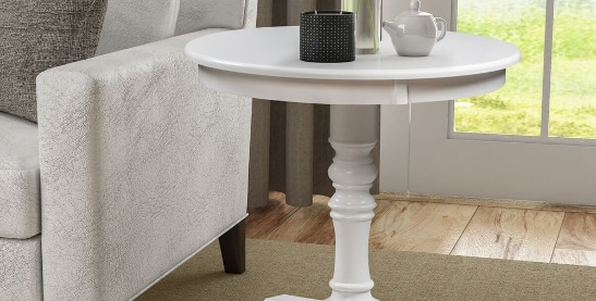 Buy White Coffee, Console, Sofa U0026 End Tables Online At Overstock.com | Our  Best Living Room Furniture Deals