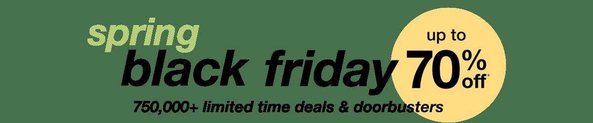 Spring Black Friday 2018 - Home Furniture Sales - desktop hero