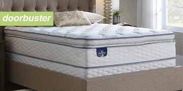 $599.99 Serta Queen Mattress Set