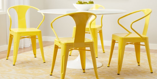 Buy Yellow Kitchen Dining Room Chairs Online At Overstock Adorable Yellow Dining Room