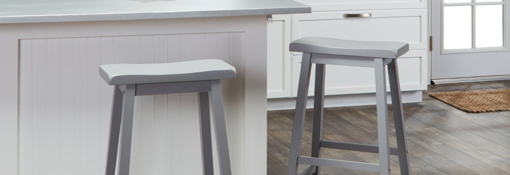 Grey Counter & Bar Stools Guide