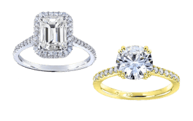 Shop a wide selection of  stunning Moissanite Rings at Overstock.com