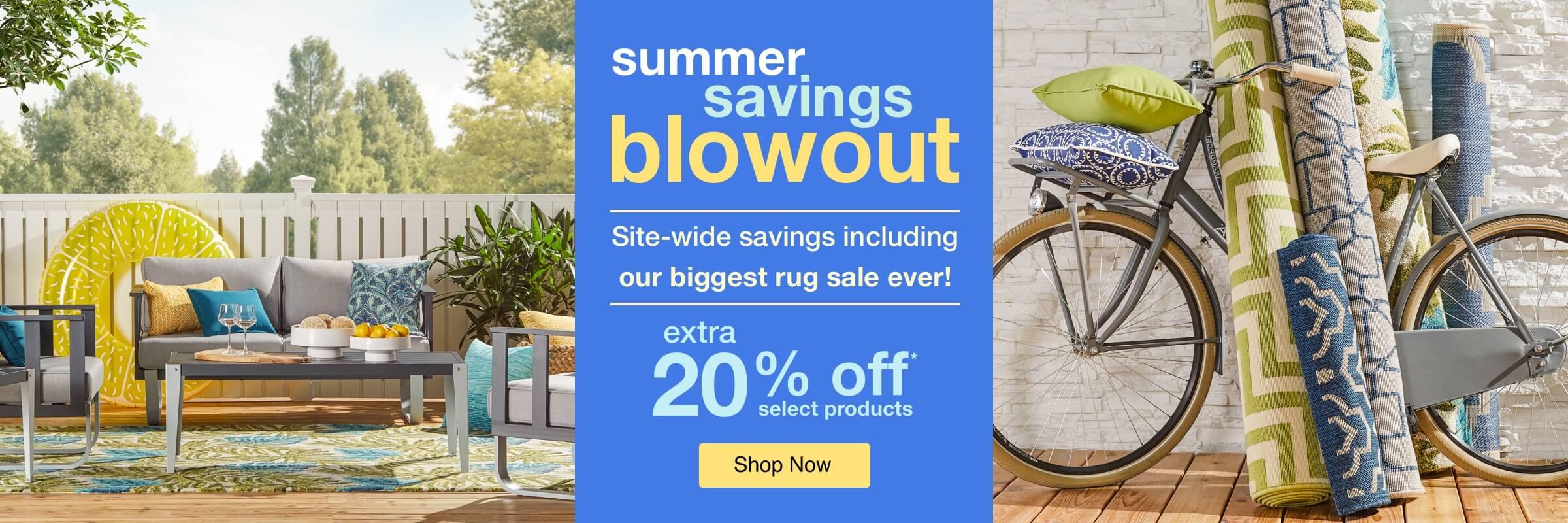 Summer Savings Blowout desktop