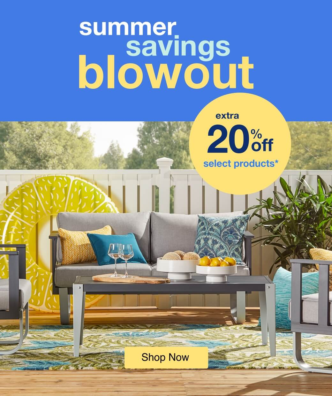 Summer Savings Blowout mobile