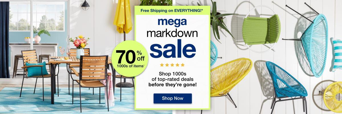 Mega Markdown Sale desktop
