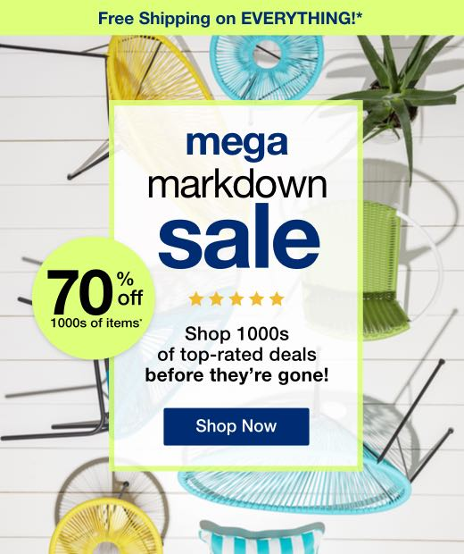 Mega Markdown Sale mobile