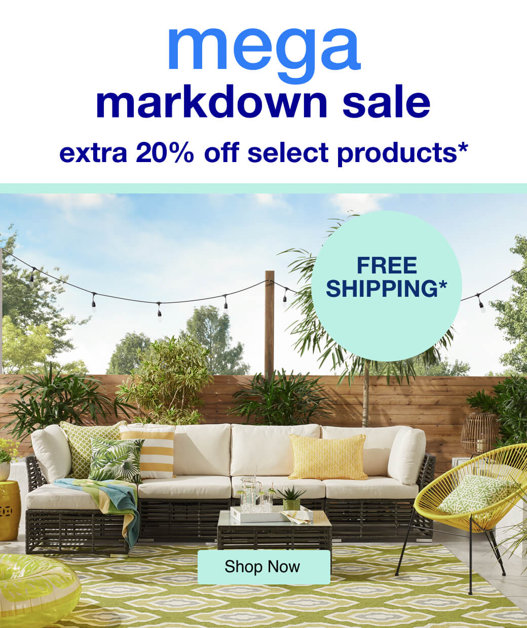 Mega Markdown Sale - mobile
