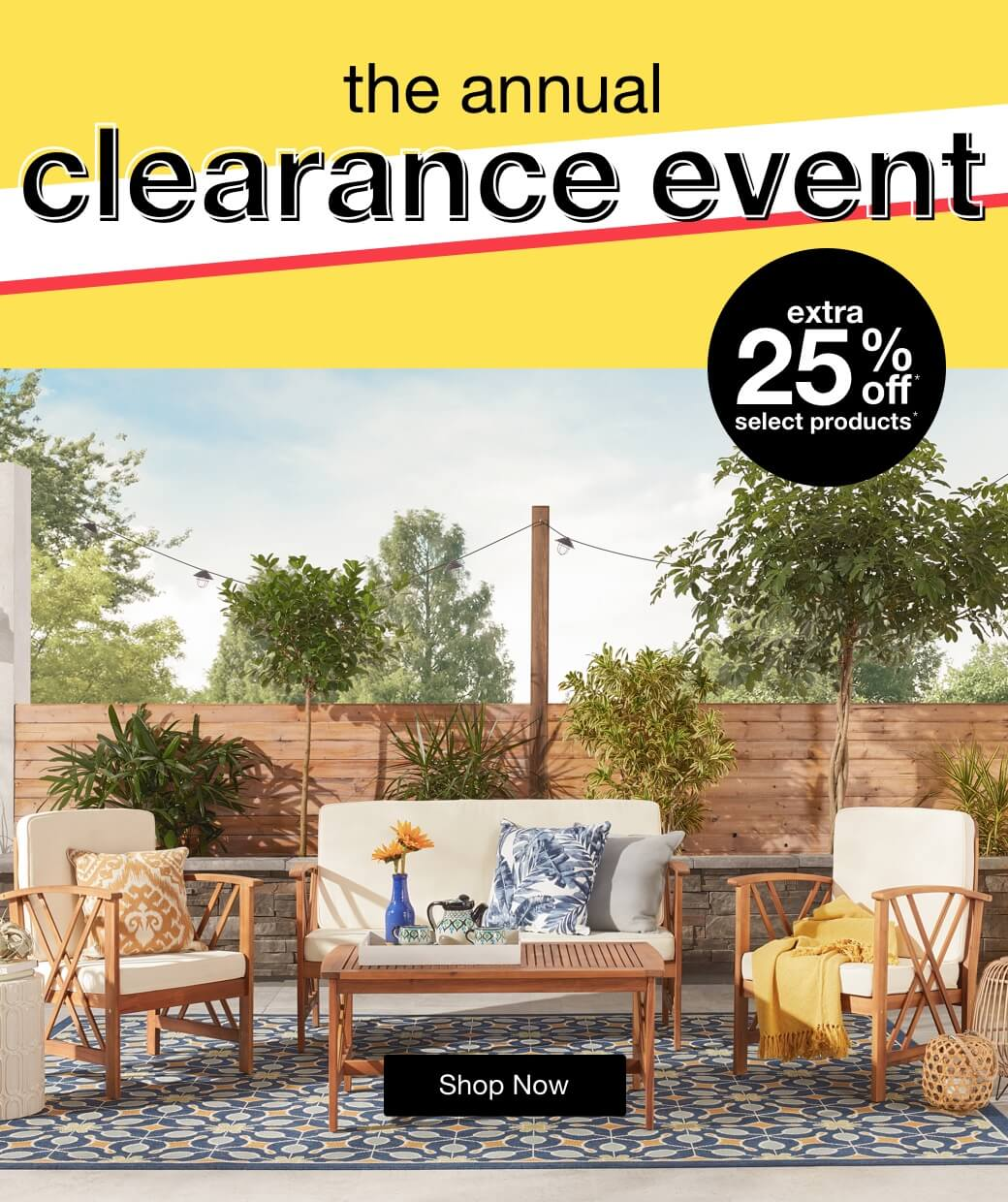 The Annual Clearance Event