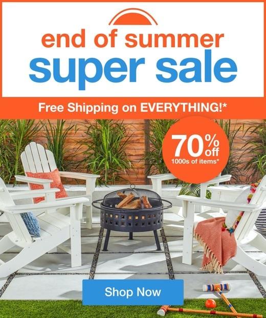 End of Summer Super Sale mobile