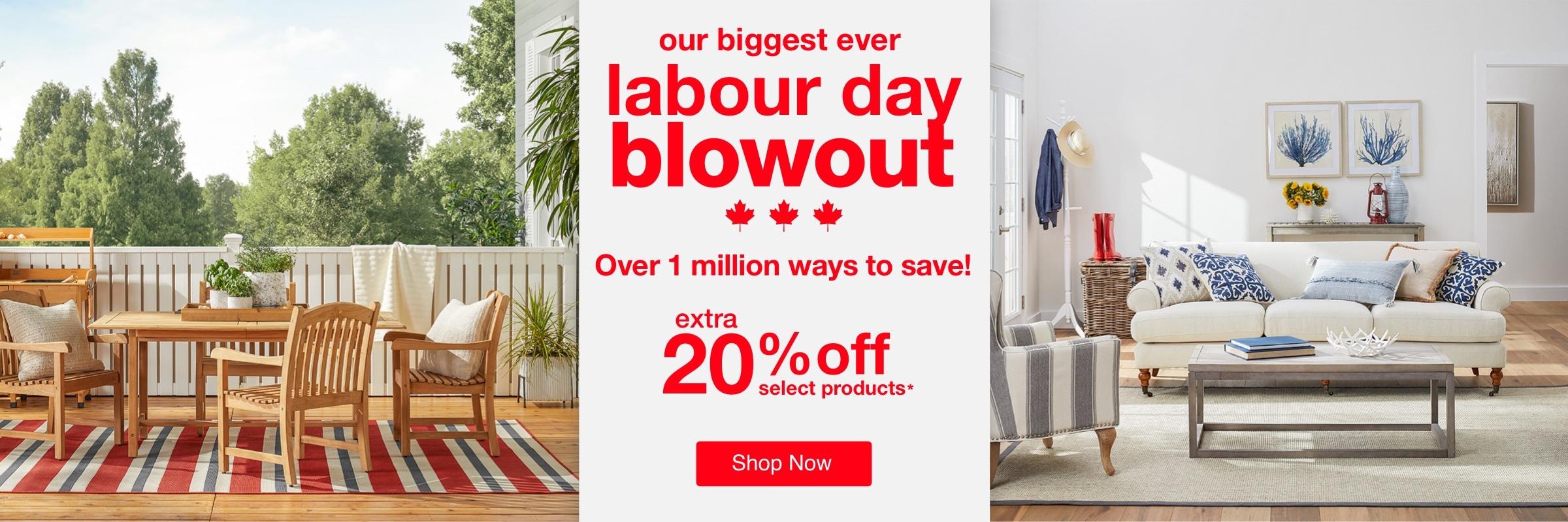 Labour Day Blowout desktop