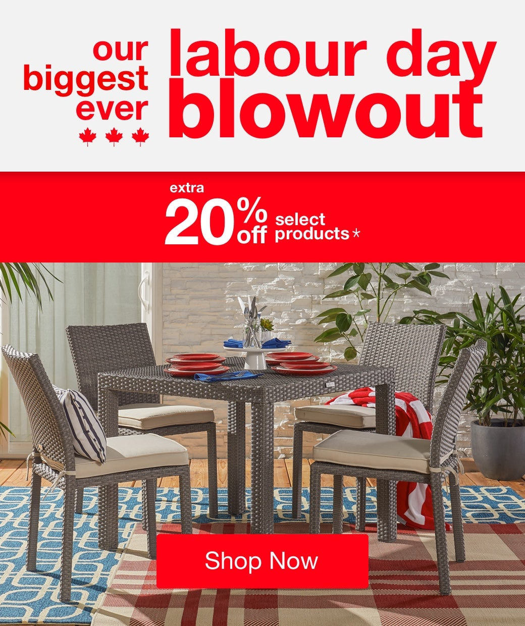 Labour Day Blowout mobile
