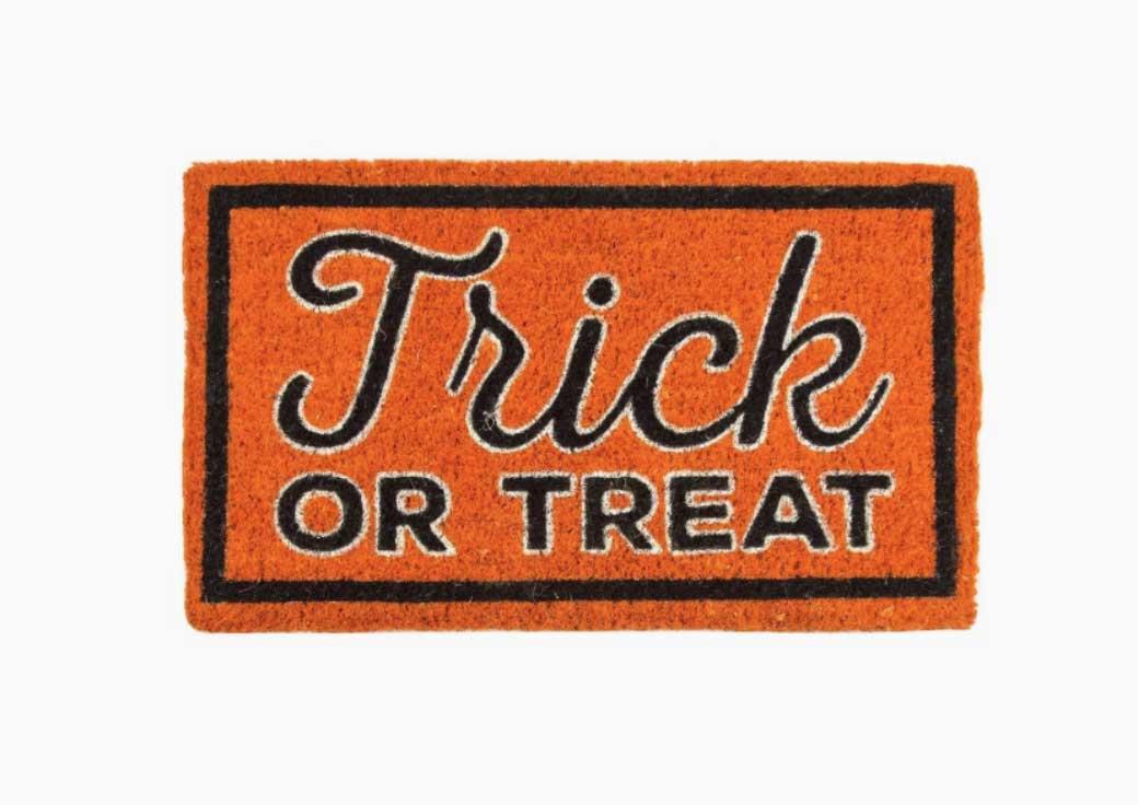 trick or trick doormat