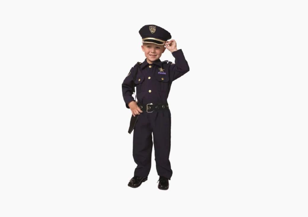boy police costume