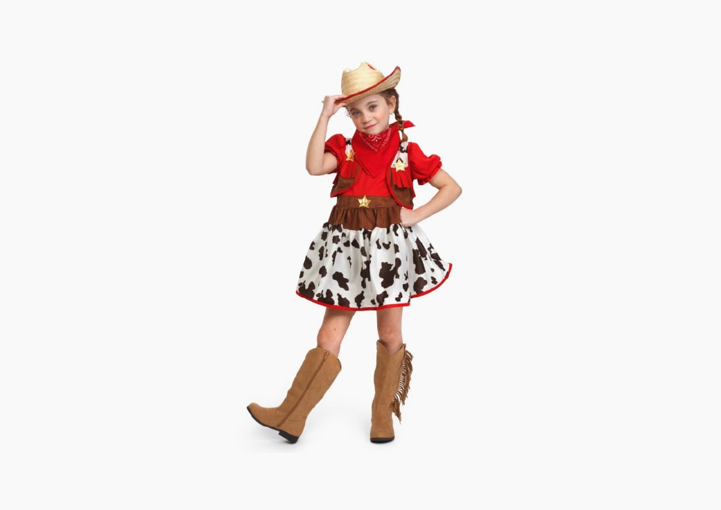 girl cowgirl costume