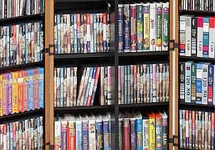 Kids' DVD storage