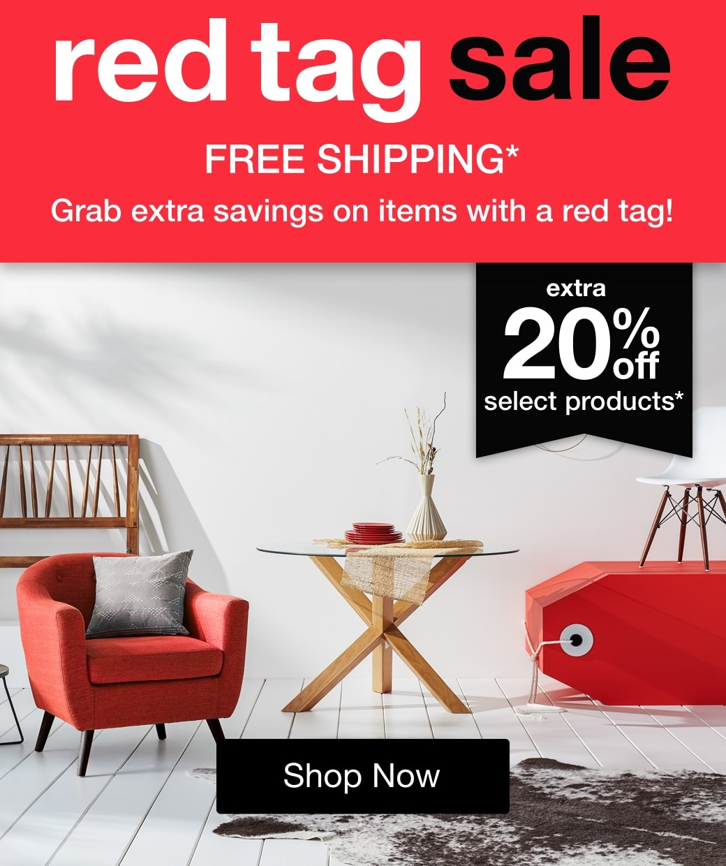 The Red Tag Sale mobile