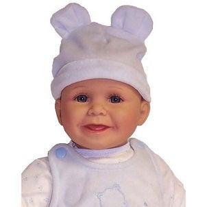 Doll in doll hat