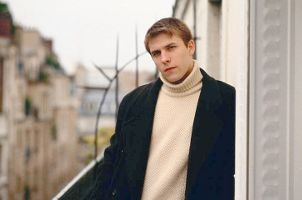 Young man wearing a sportcoat