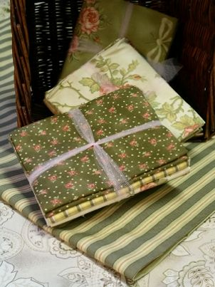 Quilting supplies as gifts