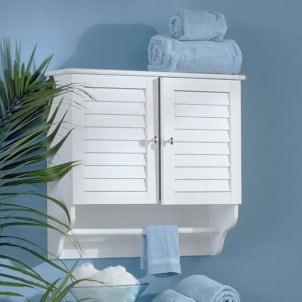 Wall-mounted bathroom cabinet