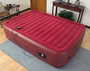 Air bed wtih red top