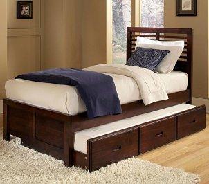 Stylish twin bed