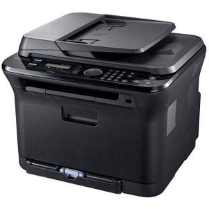 Black multifunction laser printer