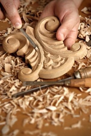 An example of fine woodworking