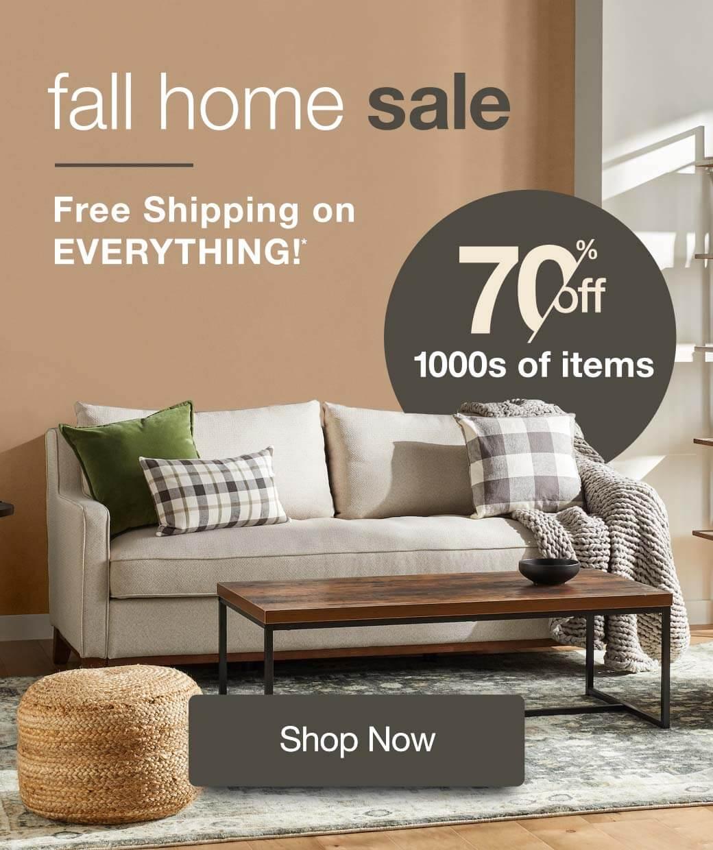 Fall Home Sale Sales & Deals