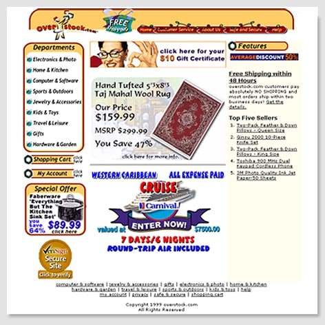 1999's Homepage