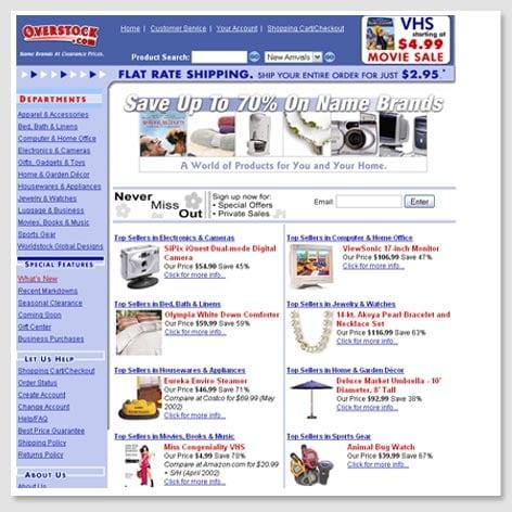 2002's Homepage