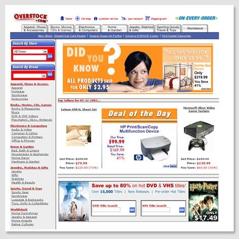 2003's Homepage