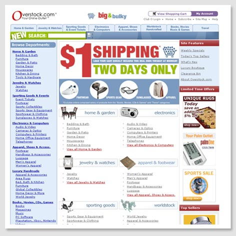 2004's Homepage