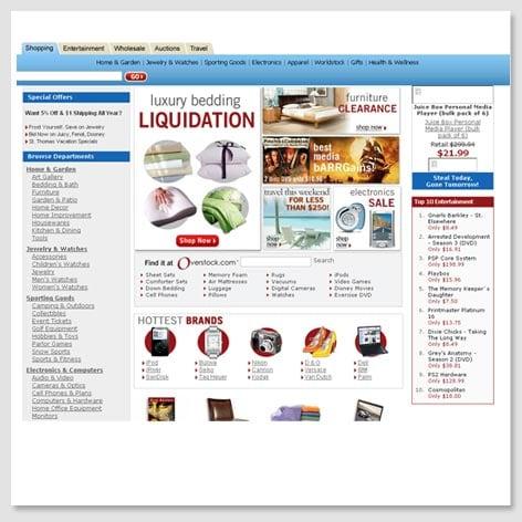 2006's Homepage
