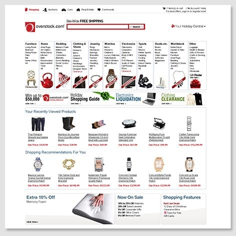 2008 s Homepage. About Us   Overstock com