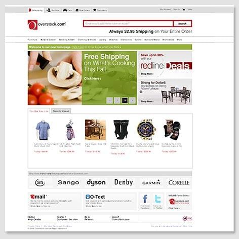 2009's Homepage