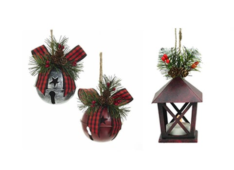 Country Chic Ornaments