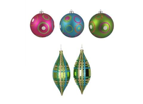 Mid-Century Ornaments