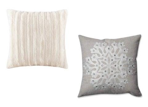 Winter Glam Pillows