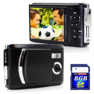 Camera with SD Card