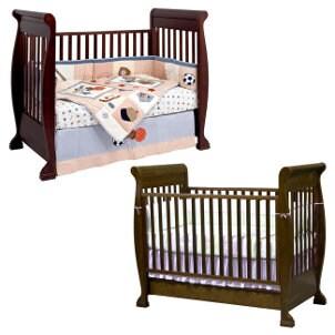 Convertible baby crib